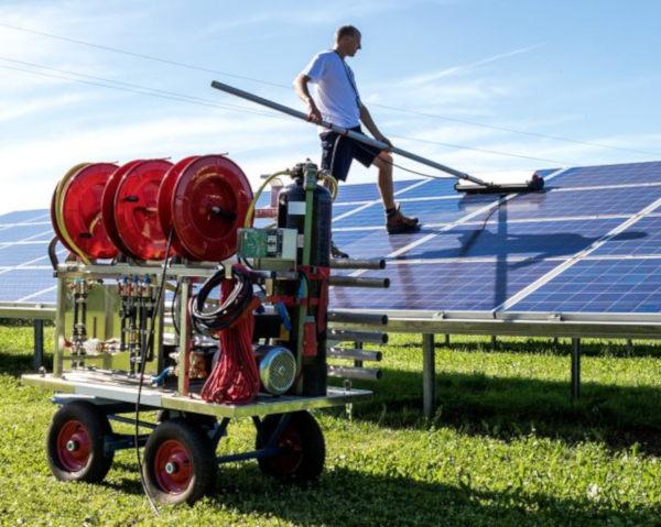 Solenergi er ren energi