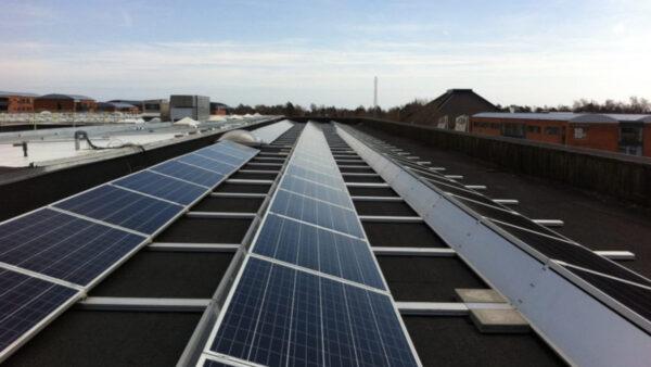 solceller erhverv